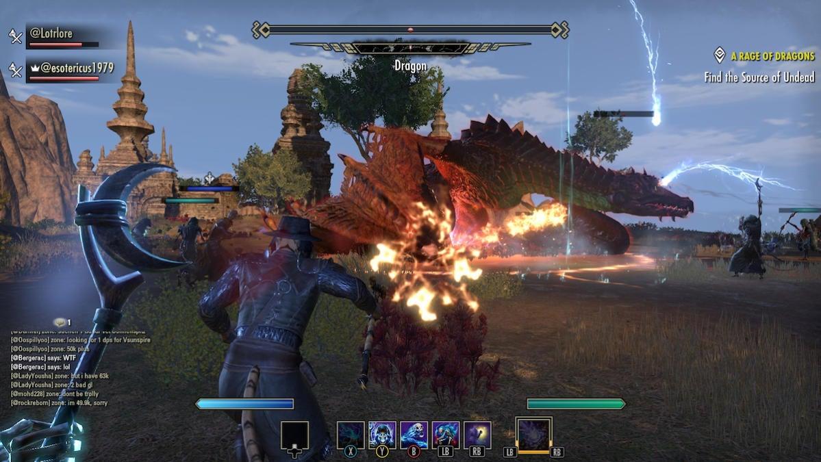 elsweyr dragon fight