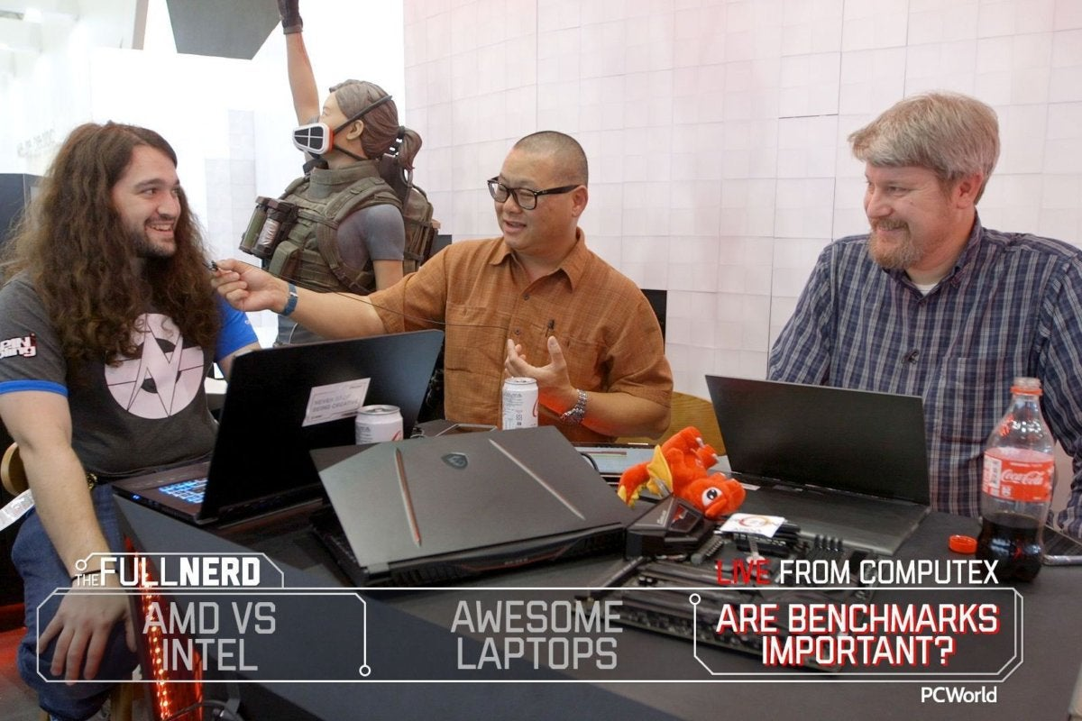 The Full Nerd ep  94: Live from Computex! AMD vs  Intel