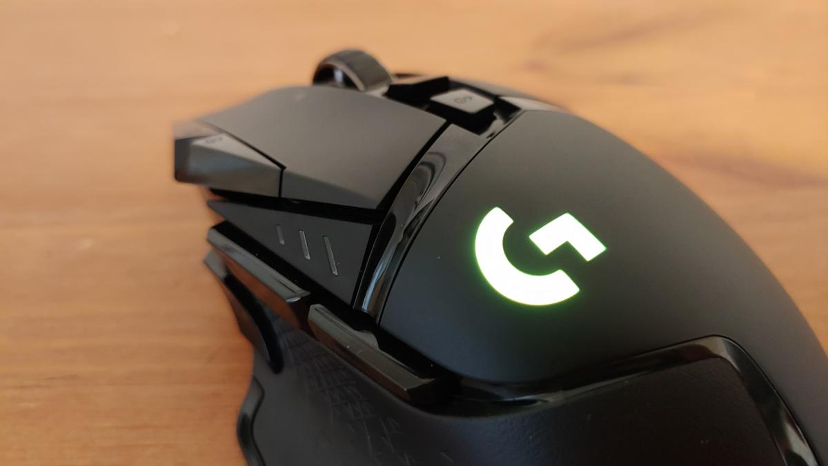 2906e77db0b Logitech G502 Lightspeed review: The iconic mouse meets Logitech's wireless  Powerplay tech