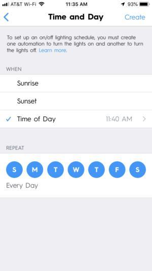 C by GE Smart Plug app