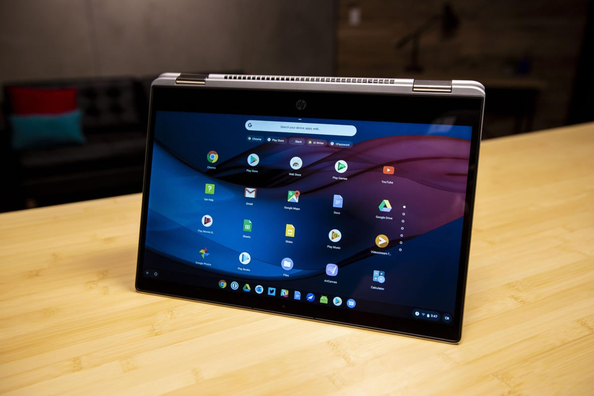 Hp Chromebook X360 14 G1 Review A Giant Powerful Convertible That Most People Don T Need Pcworld