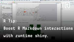How to boost R Markdown interactivity with runtime Shiny | InfoWorld
