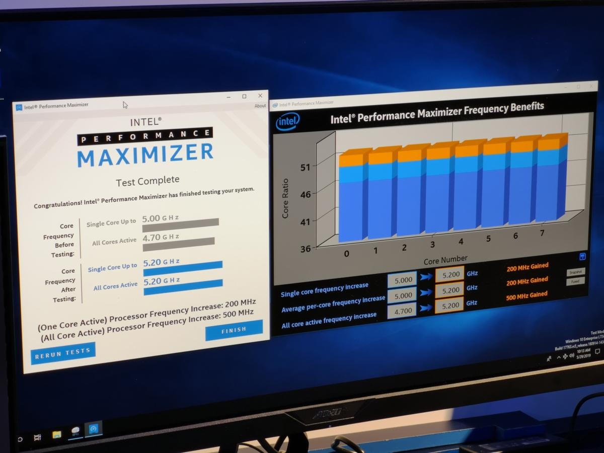 Intel teases 'Performance Maximizer' one-click overclocking