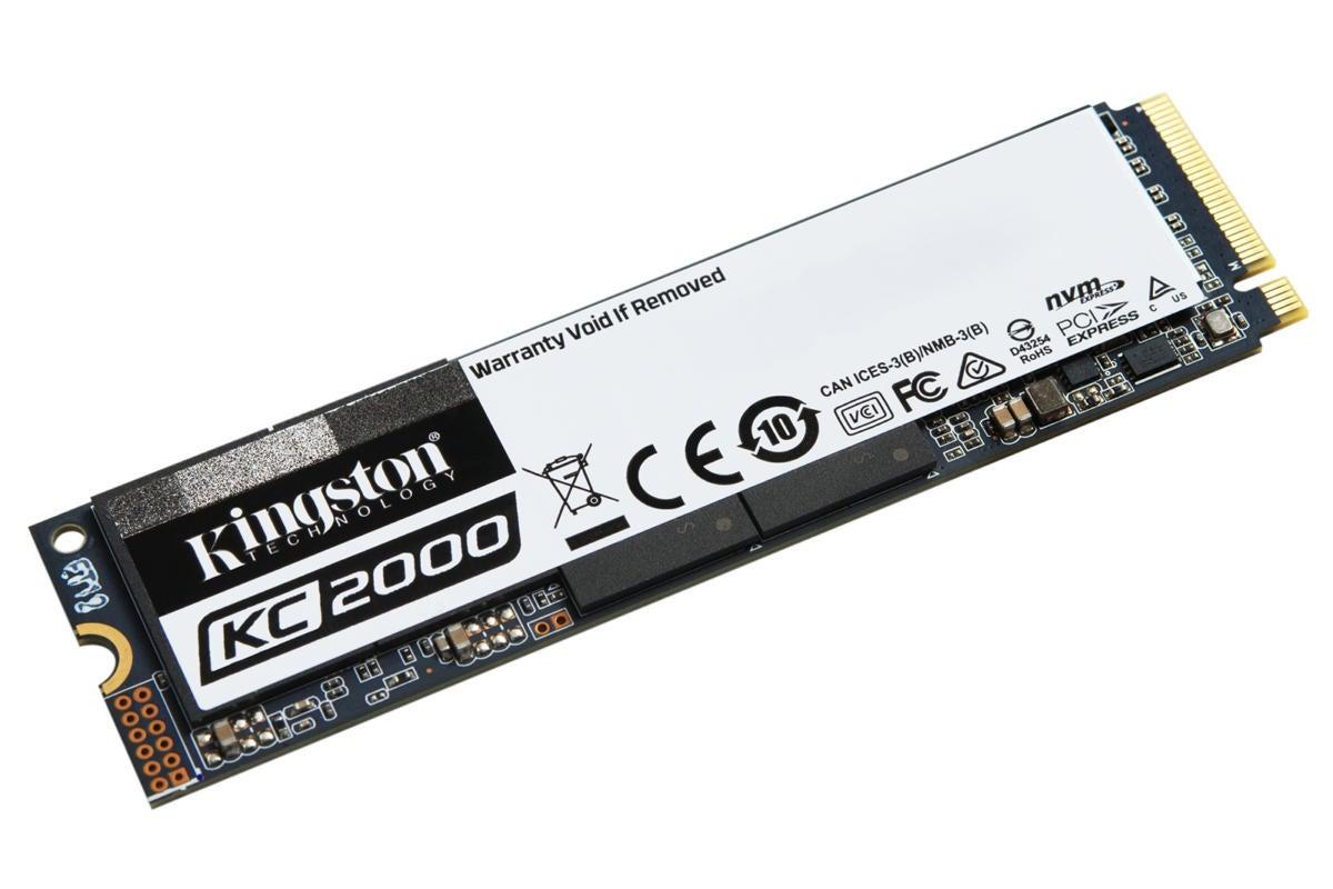Kingston KC2000 NVMe PCIe SSD: Entry-level price, top-shelf