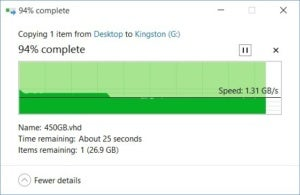 kingstons kcs2000 no slowdown