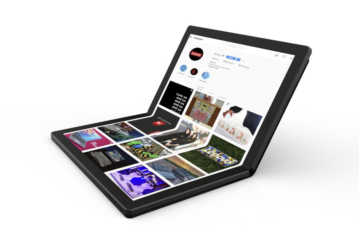 lenovo thinkpad x1 foldable pc 2