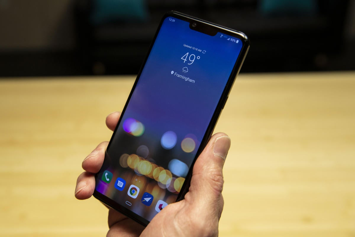 LG G8 ThinQ review: Gimmicks with a capital 'G' | PCWorld
