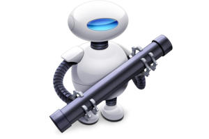 mac os mojave automator icon