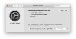 macos 10145 update