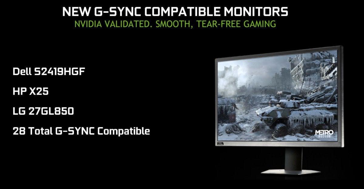 nvidia gsync compatible