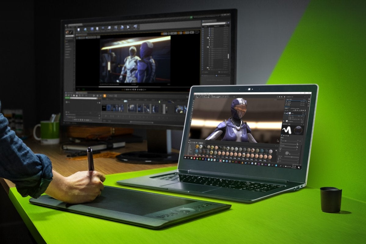<p>Nvidia GeForce Experience Studio drivers optimize creative Programs with one click thumbnail