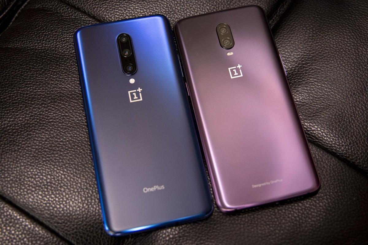 oneplus 7 pro blue purple