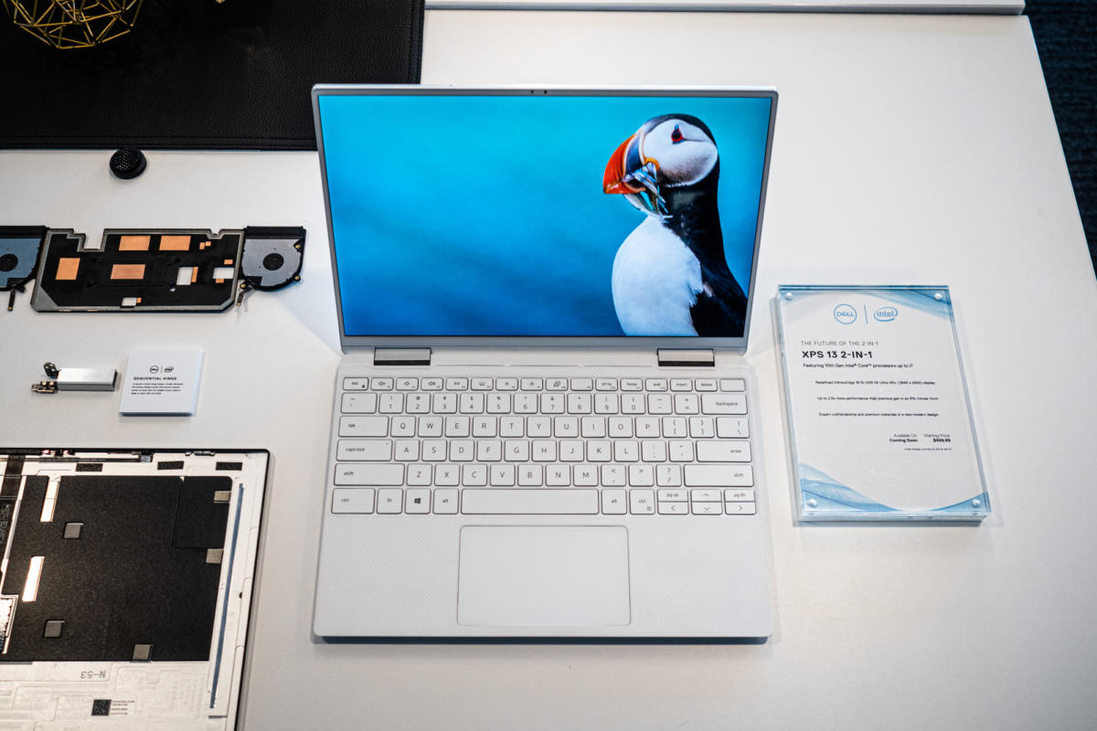 Dell XPS 13 2-in-1 10th gen Core i7 Ice Lake