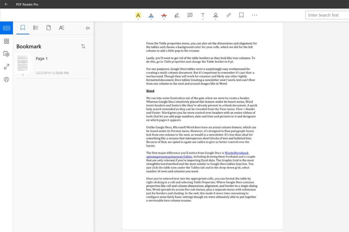 PDF Reader Pro - View, Annotate, Form Filler review: A
