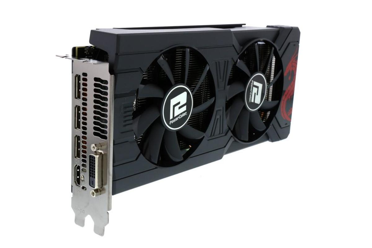 This PowerColor Radeon RX 570 with two free games for $120