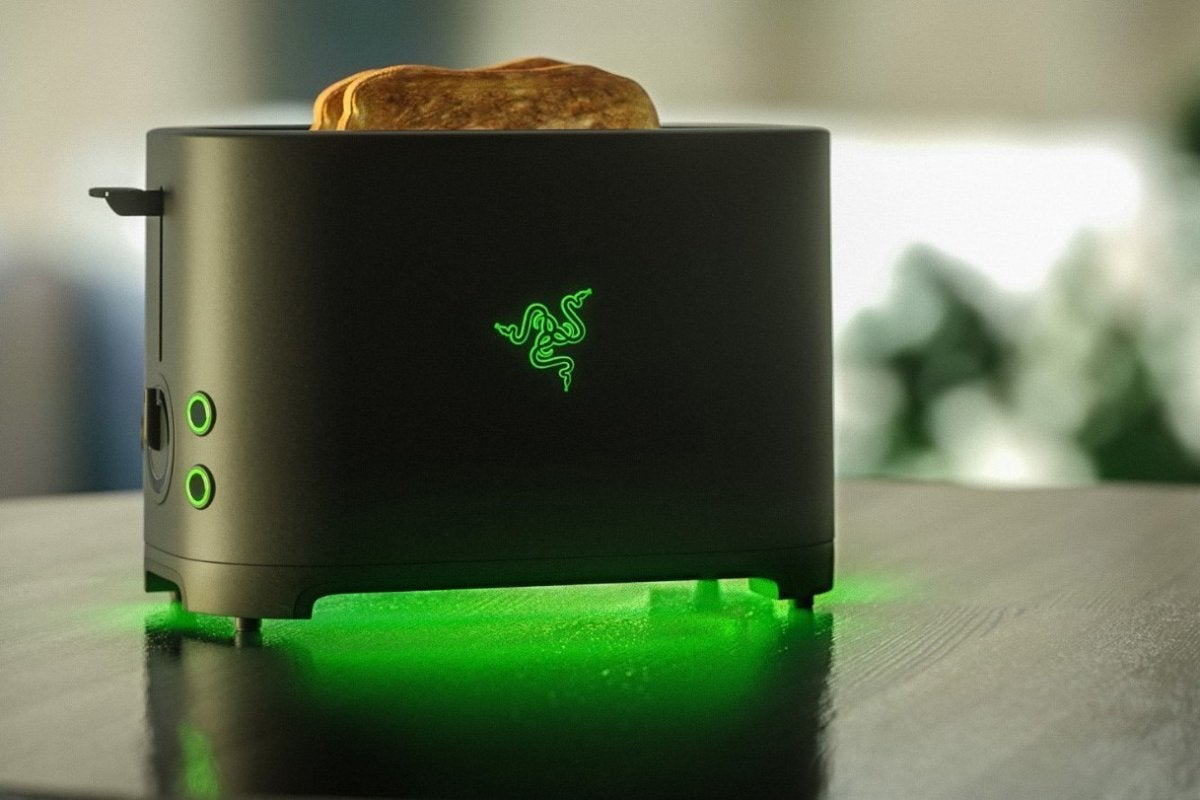 This Week In Games Razer Is Making A Toaster Sonic Has