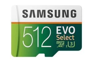 samsung evo select microsdxc
