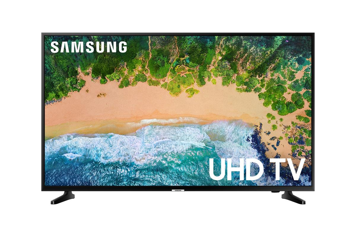 Treat your eyes to a 55-inch, 4K HDR Samsung smart TV for under $400