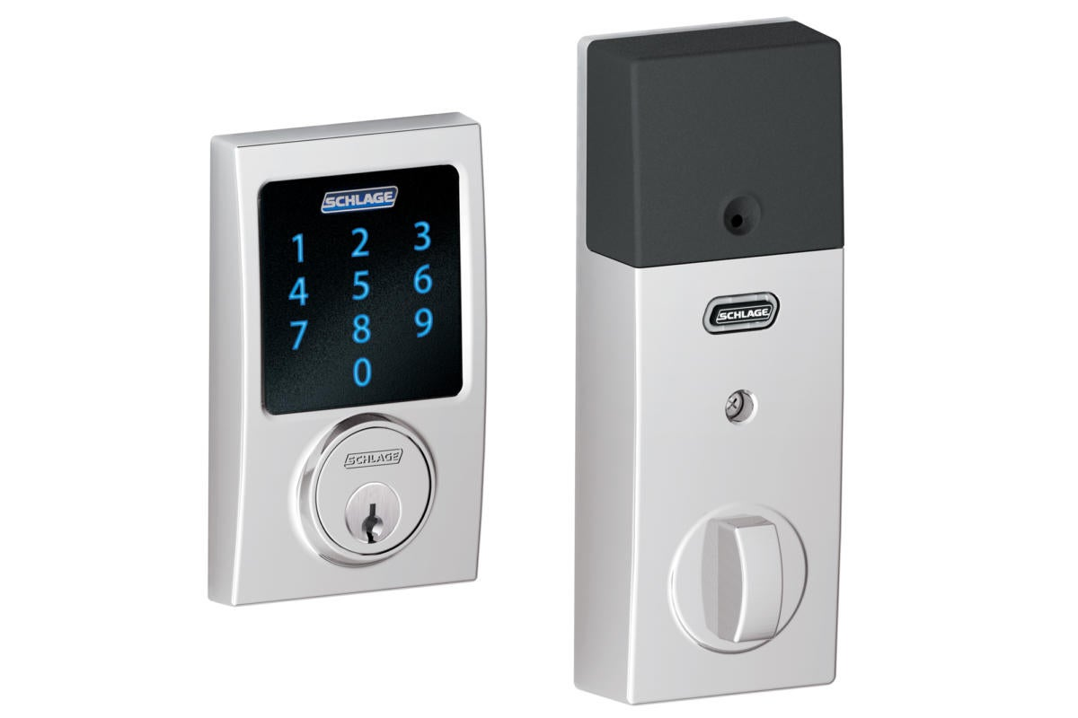 schlage connect century bright chrome