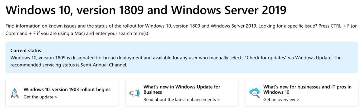 Windows 10 1903 arrives after stretch of extra testing | Computerworld