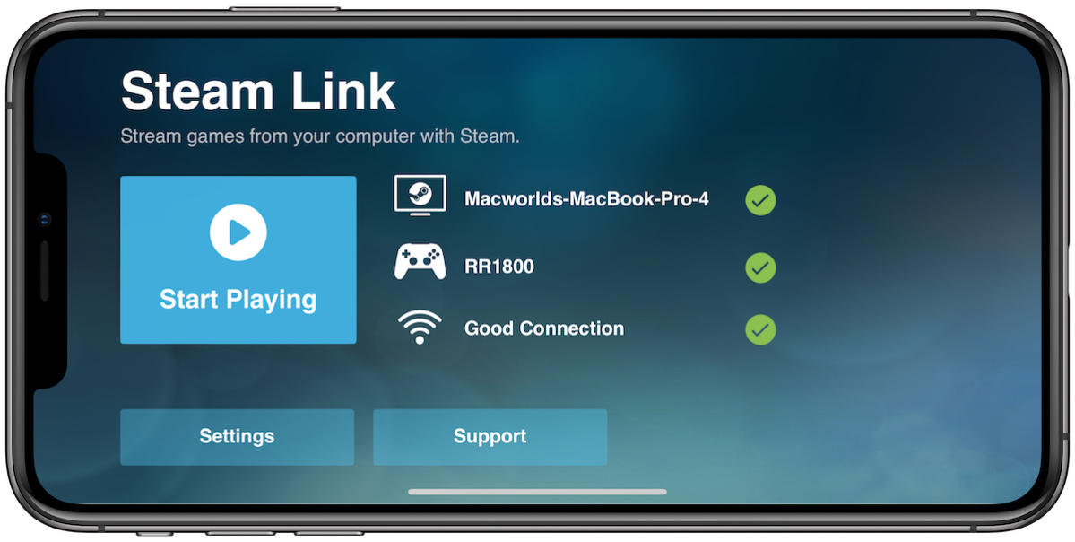 steam link connection