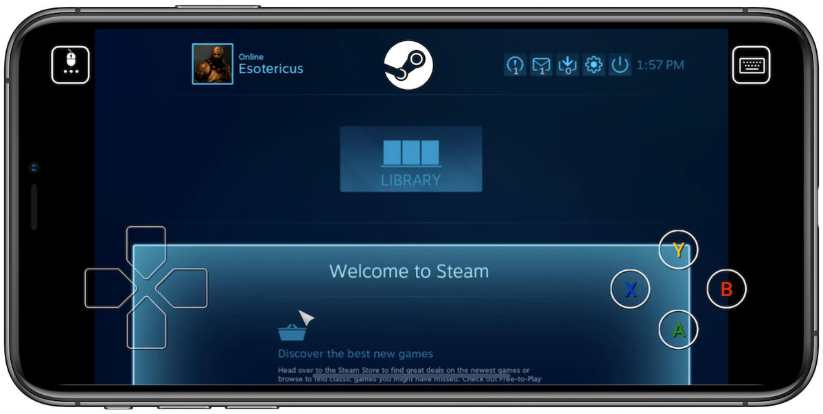 steam link ios big picture