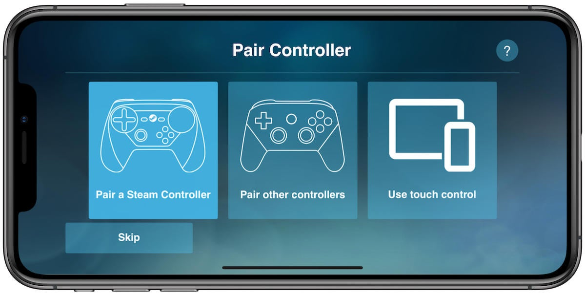 steam link pair controller
