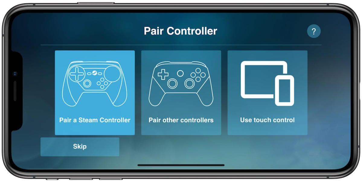 steam link pair controller