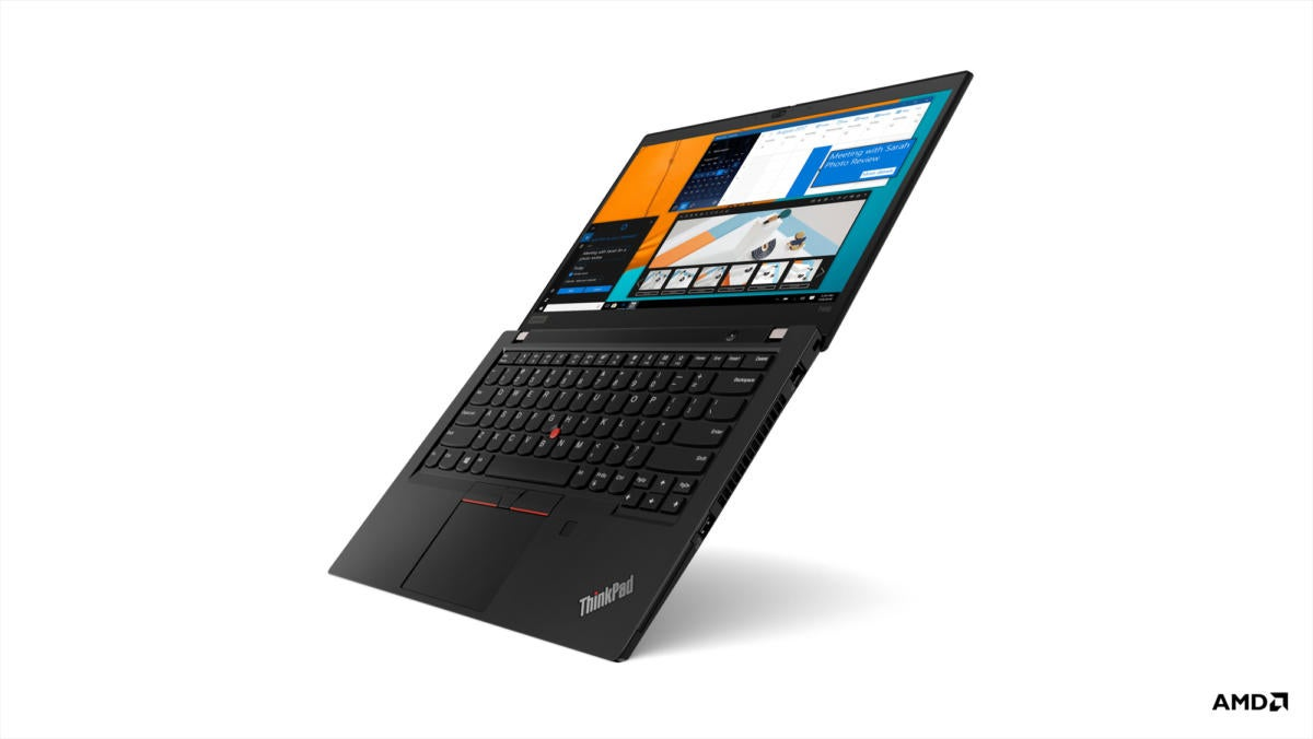 Lenovo puts AMD Ryzen chips in ThinkPads, giving Intel's rival a boost