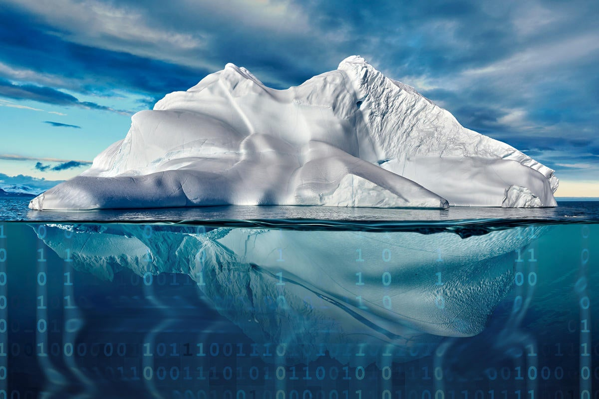 tip of the iceberg data breach hacked cyber security
