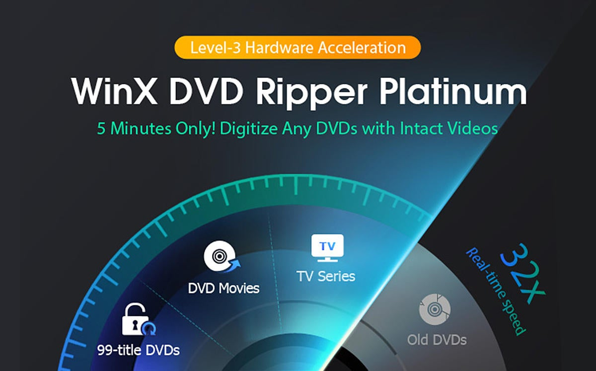 Back Up and Digitize Your DVDs with WinX DVD Ripper Platinum