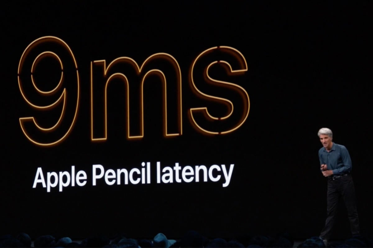 apple pencil 9ms latency