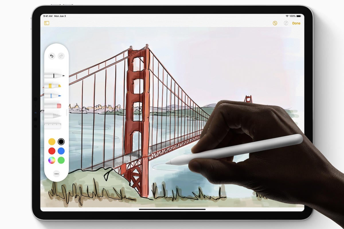 apple pencil ipados