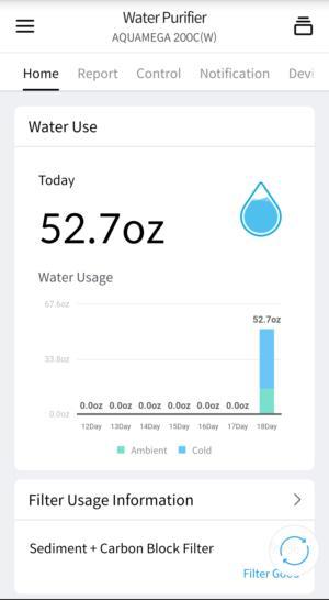 aquamega 200c app
