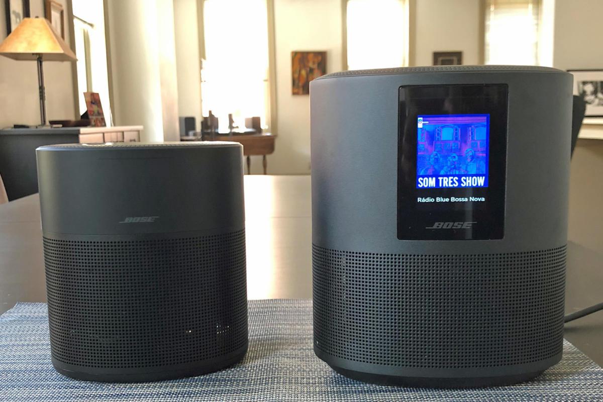 Bose Home Speaker 300 Smart Speaker & Bose Home Speaker 500 Smart Speaker