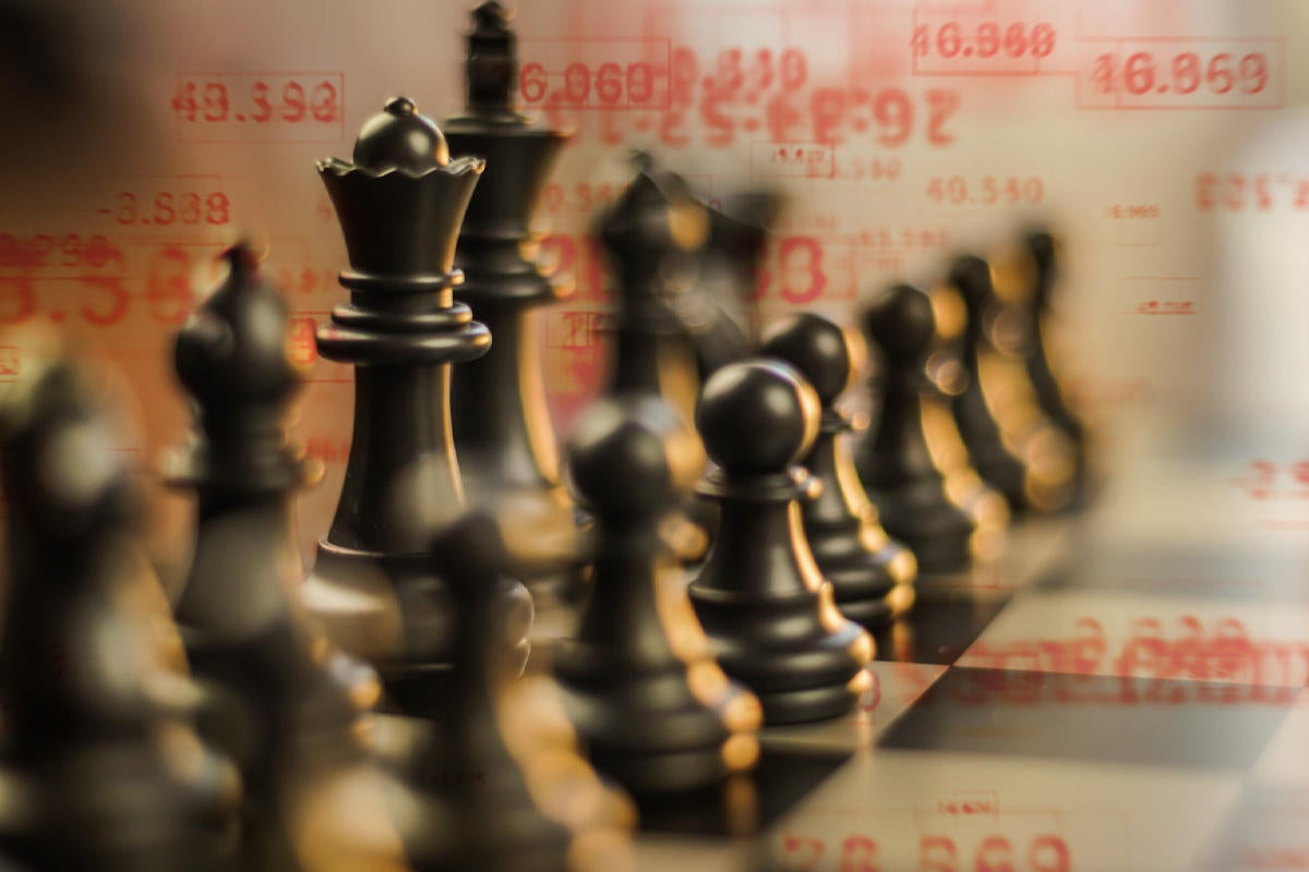 chess strategy strategic data binary game by santoelia getty images