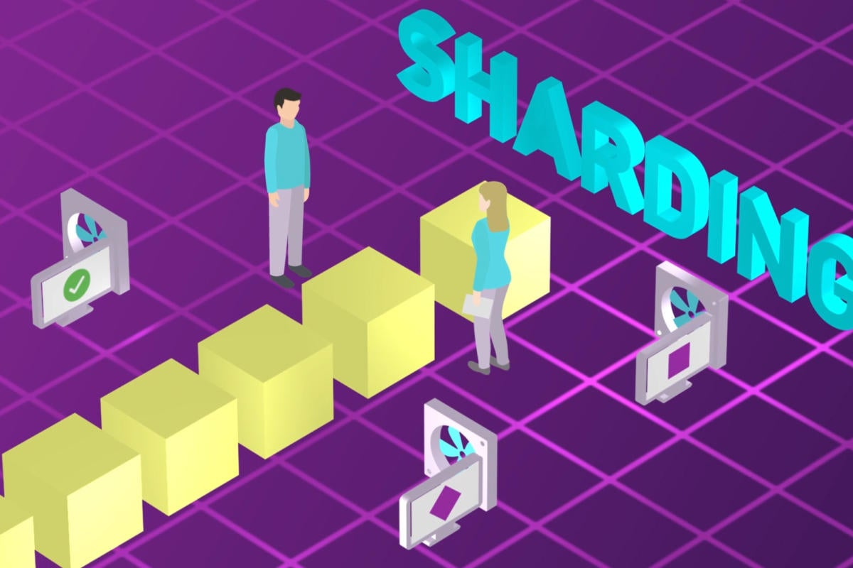 What is sharding? It's one way blockchain can scale