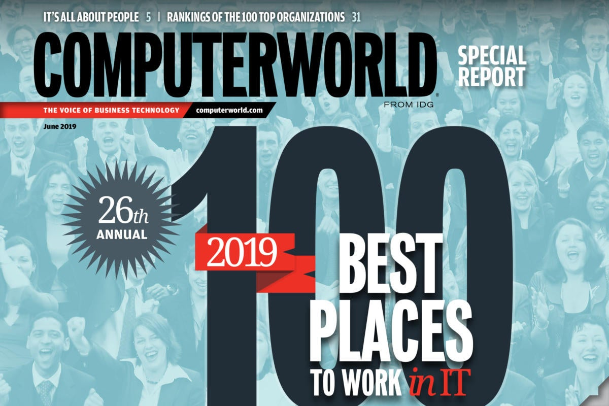 [CWBP19] Computerworld 100 Best Places to Work in IT 2019 > Cover