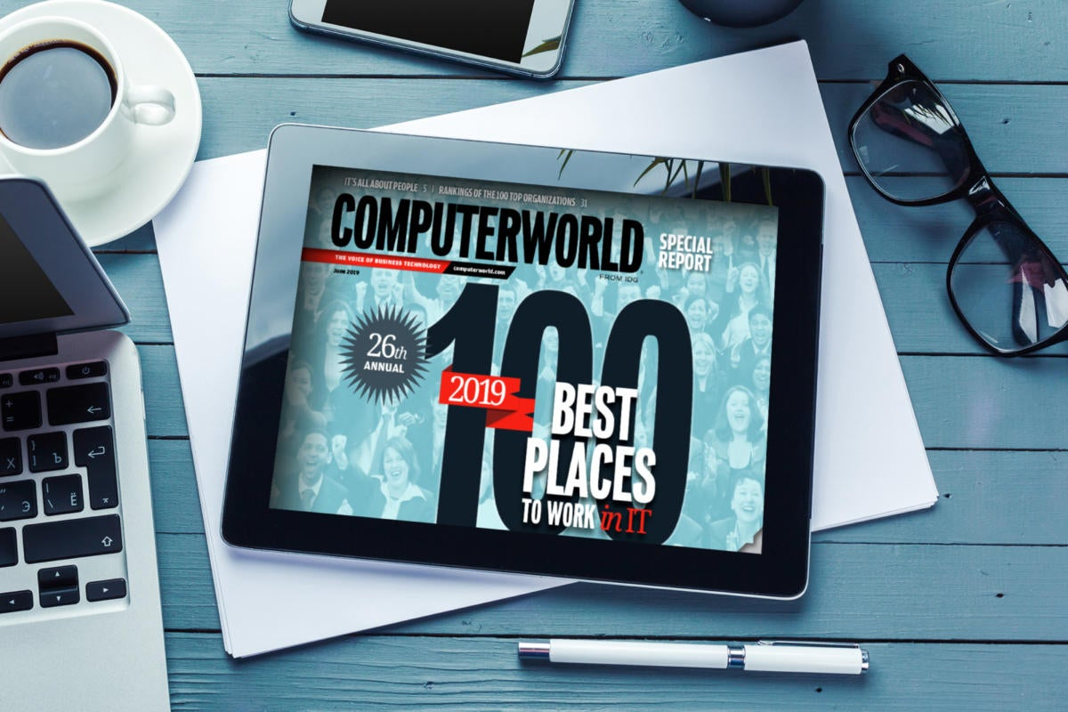 [CWBP19] Computerworld 100 Best Places to Work in IT 2019