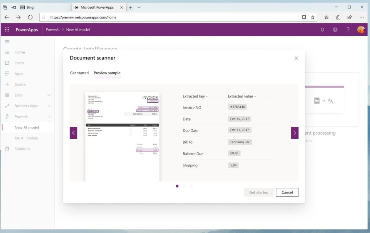 Microsoft adds AI capabilities to PowerApps and Flow to automate