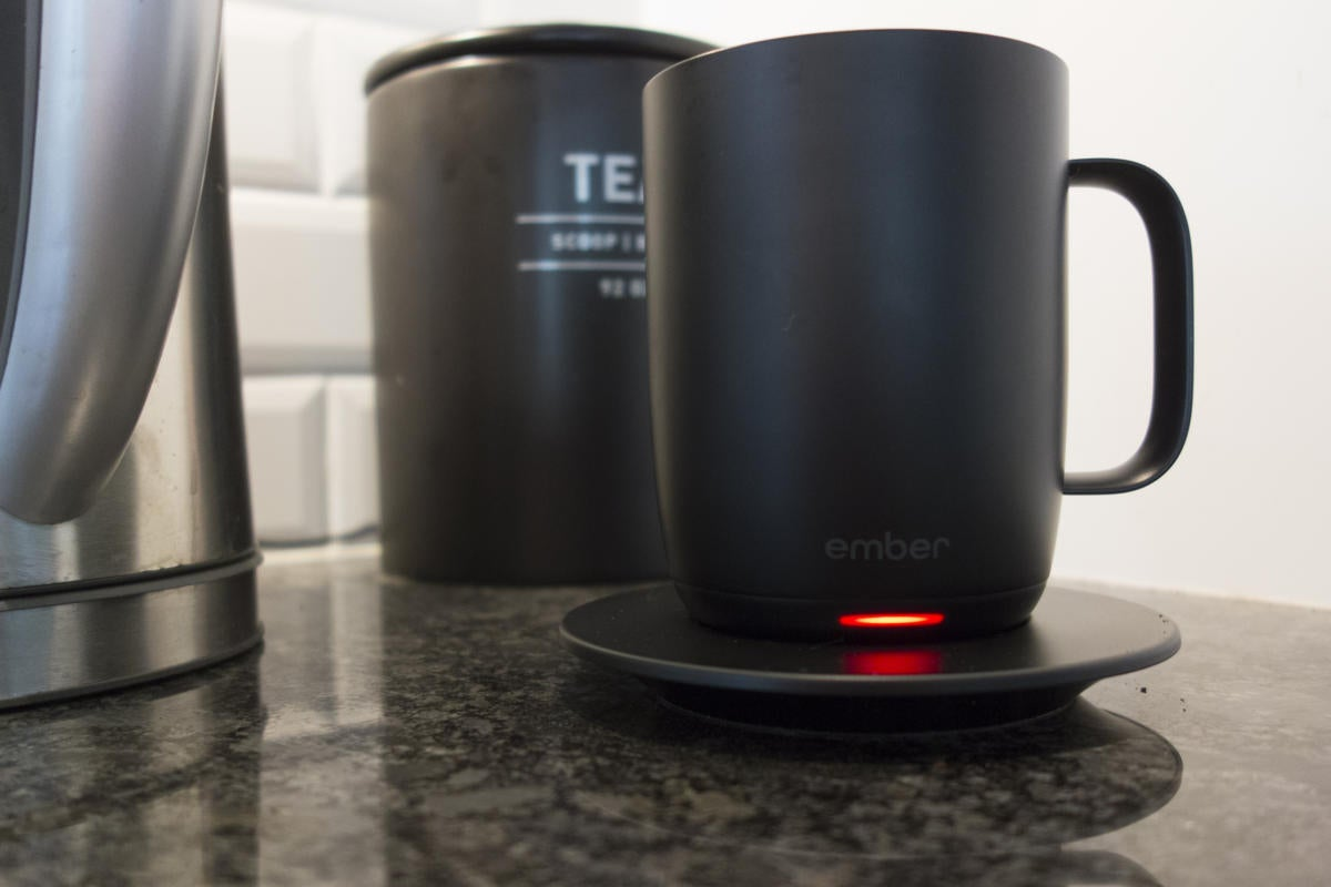 Ember Ceramic Mug And Ember Travel Mug Reviews Smart At Home Less So On The Road Techhive