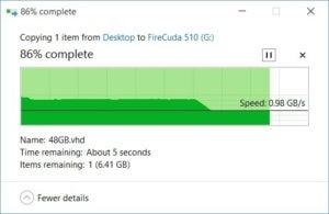 firecuda 510 slowdown