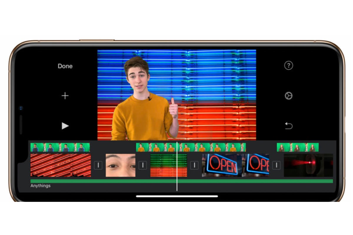 iMovie's latest update brings green screen effects, 80 new soundtracks, and more