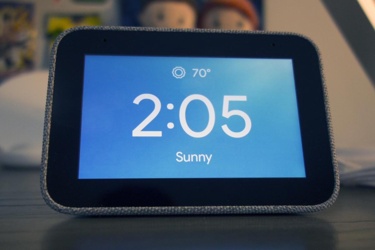 lenovo smart clock weather