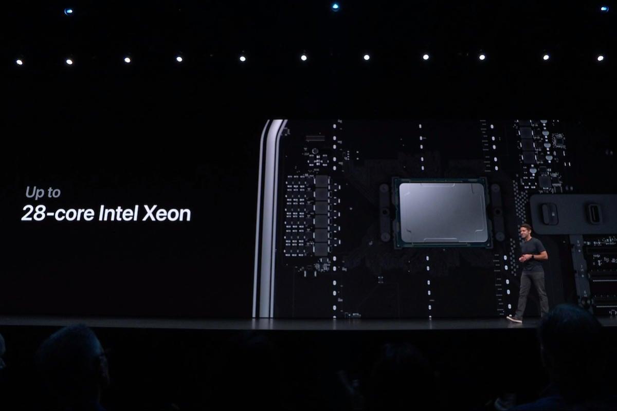 mac pro 2019 intel xeon