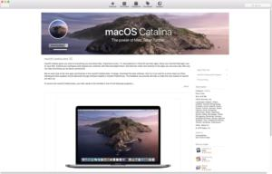 macos catalina beta app store
