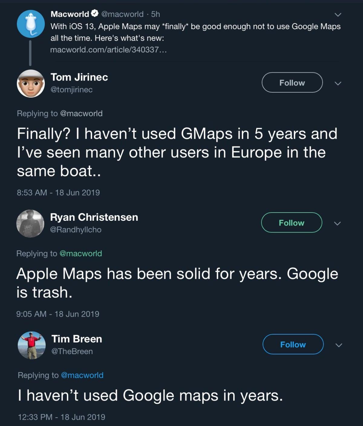 macworld podcast 656 ios13 maps