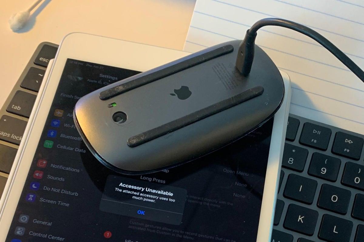 magic mouse charging