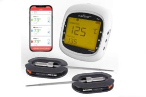 NutriChef's Bluetooth BBQ grill thermometer costs just $44 now