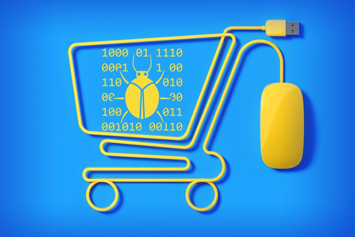 online shopping cart magecart hackers shopping online